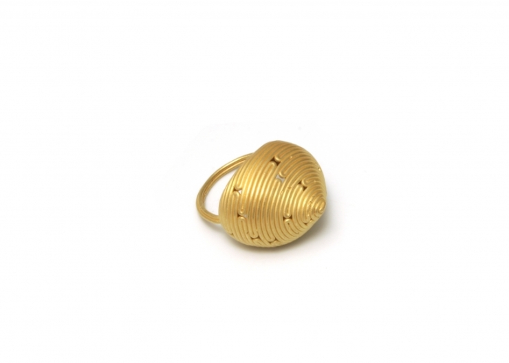 1 Ashanti, ring, gold 18k