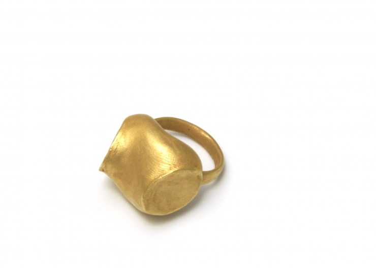 2 Ashanti, ring, gold 18k