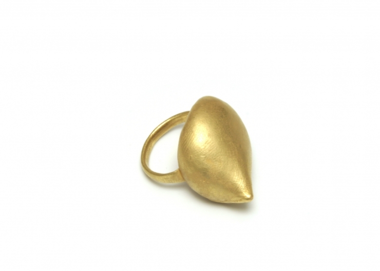 Ashanti, ring, gold 18k