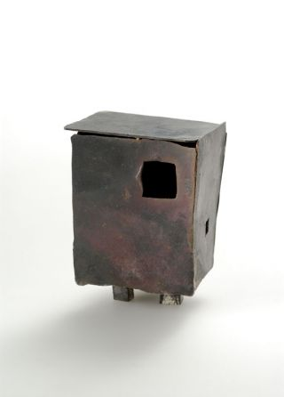 untitled, object- shibuichi
