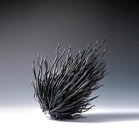 Propogation Project; Roots, 2014 Forged Mild Steel, Wax Coated